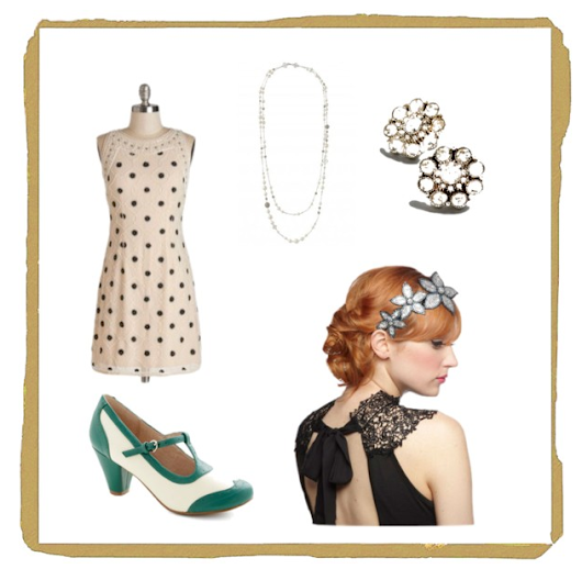 Vintage Prom/Grad Inspiration-1920's Style