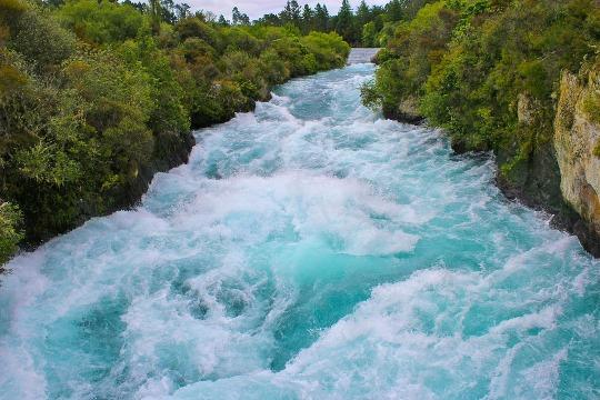 Huka Falls, Selandia Baru
