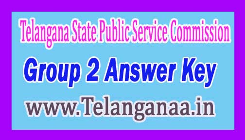 TSPSC Group 2 Answer Key 2016 Download Official Key For 1 2 3 4 Papers