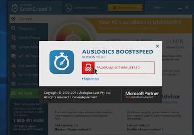 Thủ thuật BoostSpeed 9.0.0 miễn phí bản quyền - Tăng tốc tốt nhất cho Windows 7 Windows 8 Windows 10