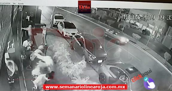Video del ataque contra la 'Cervecería Chapultepec'