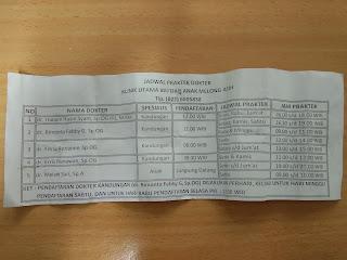 Jadwal Periksa Dokter Klinik Bersalin Melong Asih Cimahi