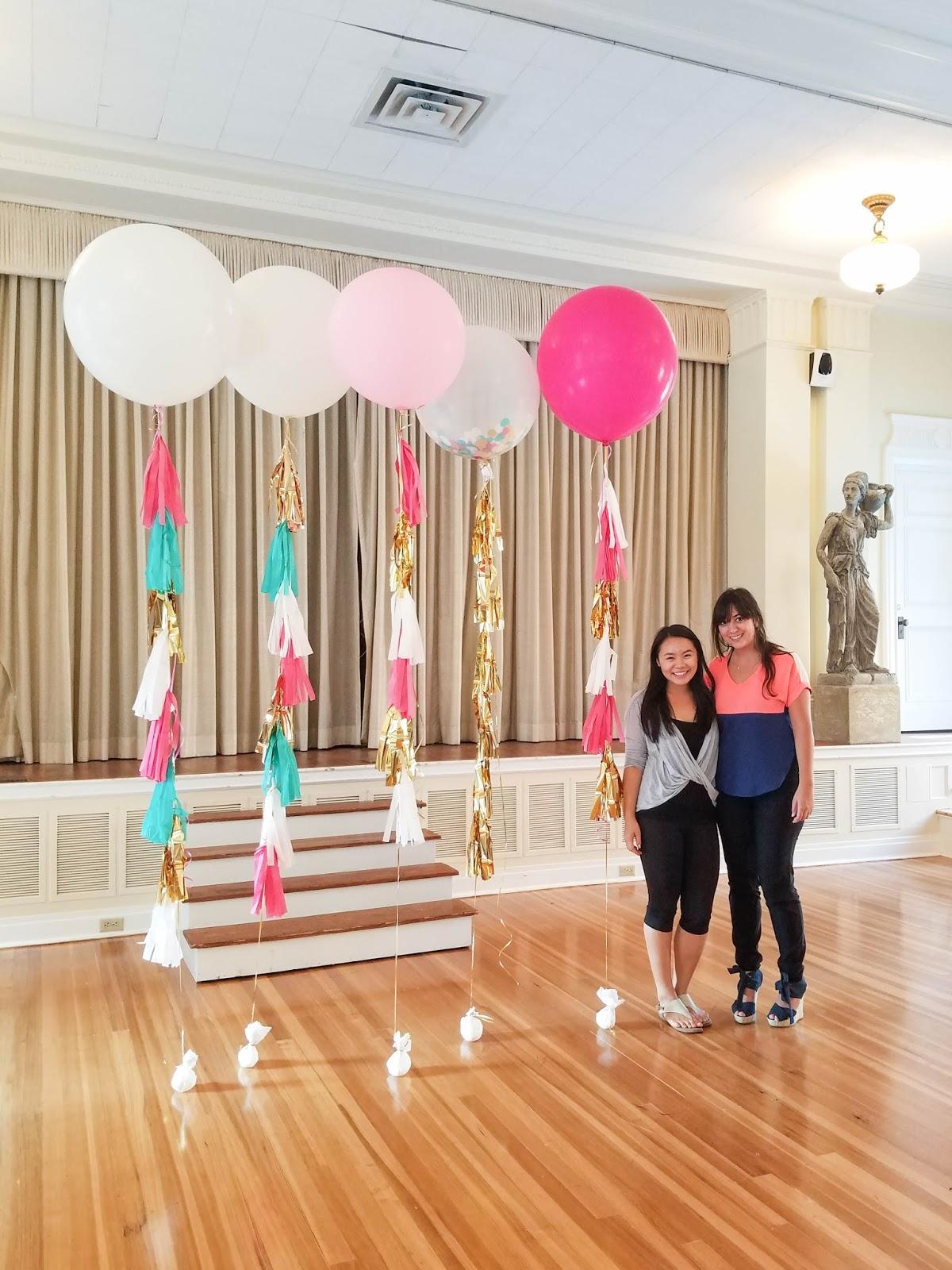 tassel ballons with Teen Vogue   The Bella Insider