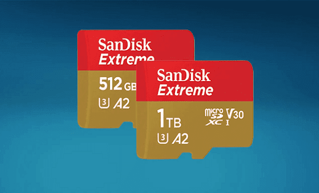 شركة microSD تطلق رسميا بطاقتها microSD Extreme بحجم 1 تيرابايت للبيع وإليك الرابط