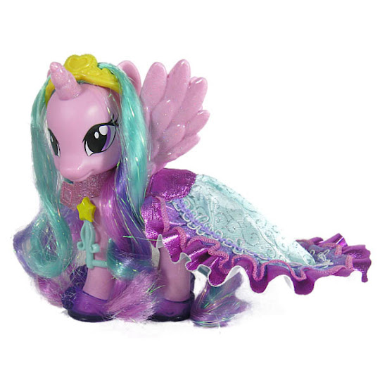 Mlp Fashion Style Princess Celestia Brushable Figure Mlp Merch