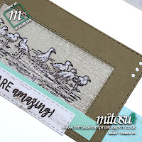 By The Bay Stampin' Up! 2019 Sale-A-Bration SAB Card Idea. Order craft materials from Mitosu Crafts UK online shop