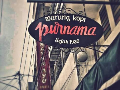 Warung Kopi Purnama, Warung Kopi Legendaris Di Bandung Sejak 1930