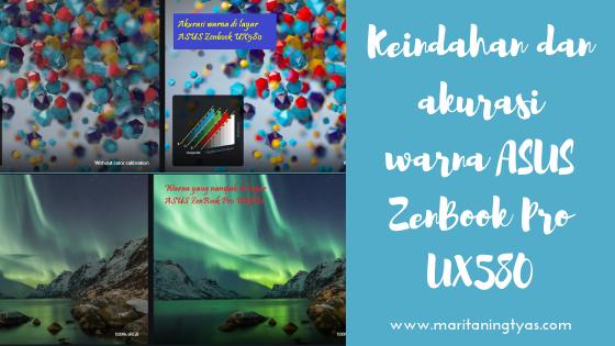 akurasi warna ASUS ZenBook Pro 15 UX580