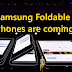 Samsung foldable phones are coming and it's open in to a tablet.