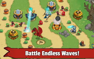 Download Game Legends TD – None Shall Pass Apk v1.0.2 Mod Money Terbaru