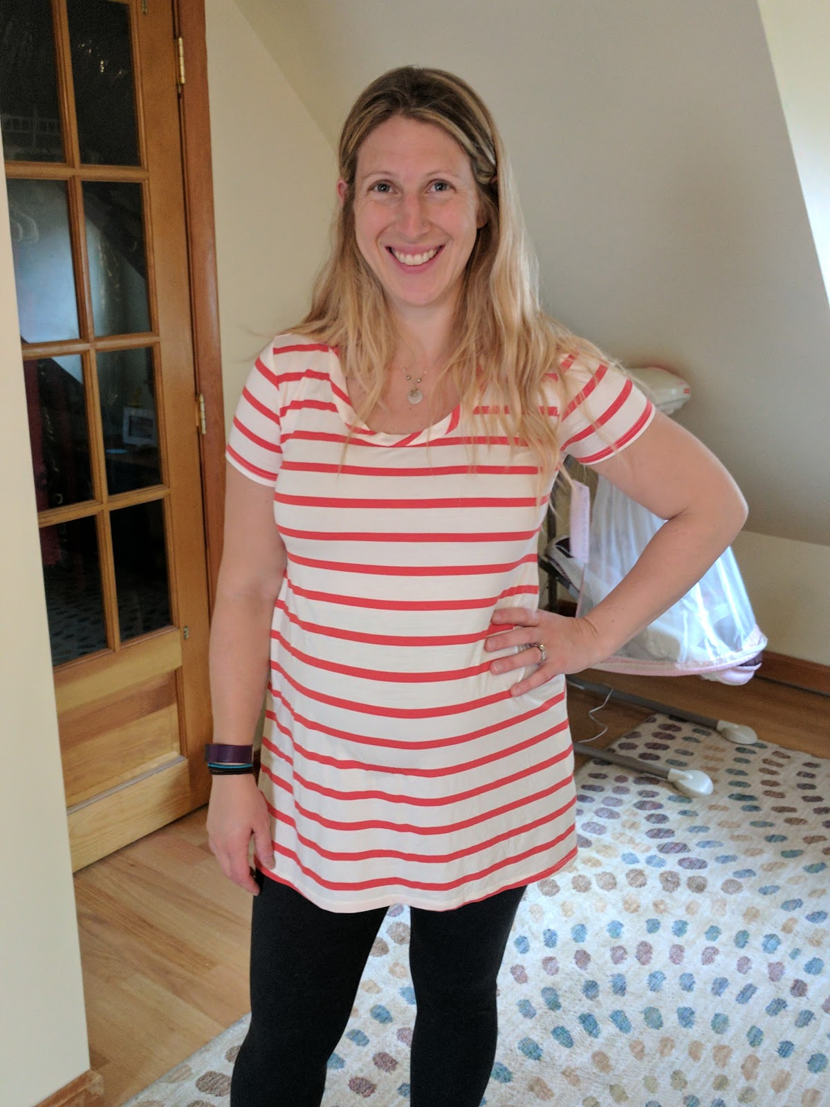 ebecf89d51c Stitch Fix maternity boxes #1 and #2   Combing through the closet