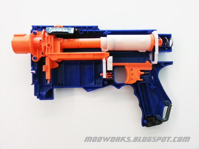 Mod Works: Nerf N-Strike Elite Retaliator - Internals Guide!