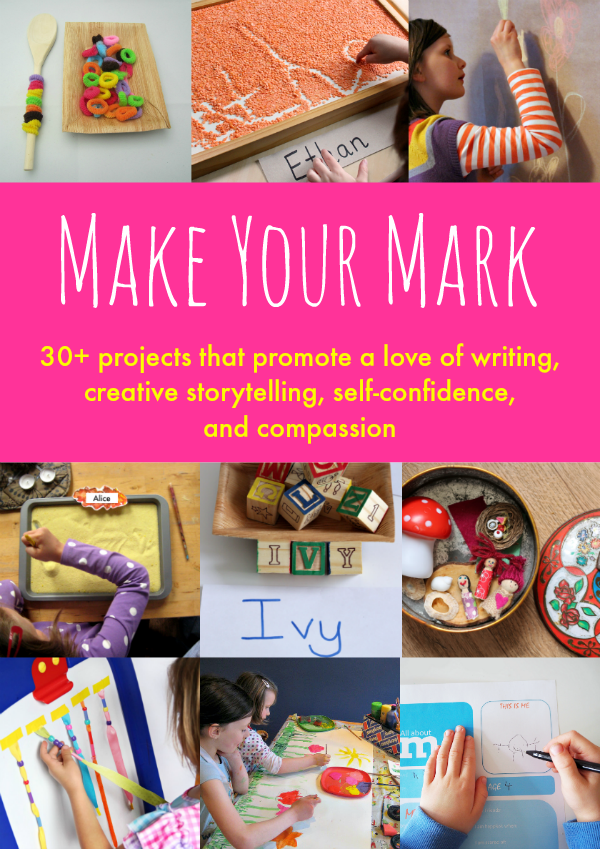 Make Your Mark eBook - why mark making is so important plus ideas and resources to help educators and parents alike promote and encourage mark making | you clever monkey
