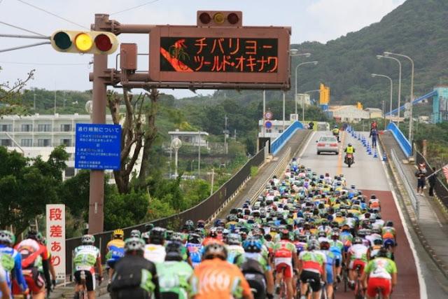 Tour De Okinawa (cycle race), Nago City, Okinawa Island