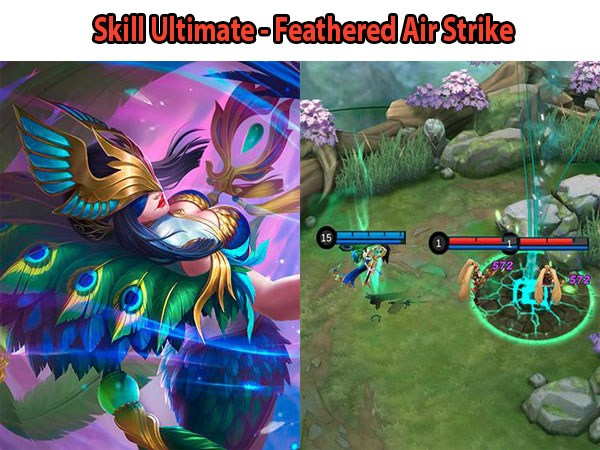 7 Skill Ultimate Hero Mobile Legend Paling Jago, Skill Ultimate - Feathered Air Strike