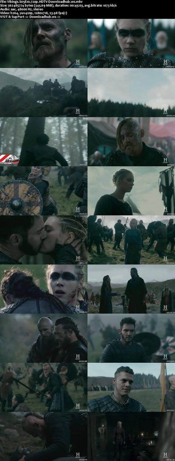 Vikings S05E10 340MB HDTV 720p x264
