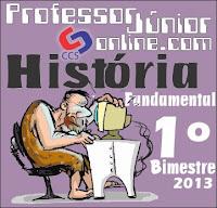 Prova de História. www.professorjunioronline.com