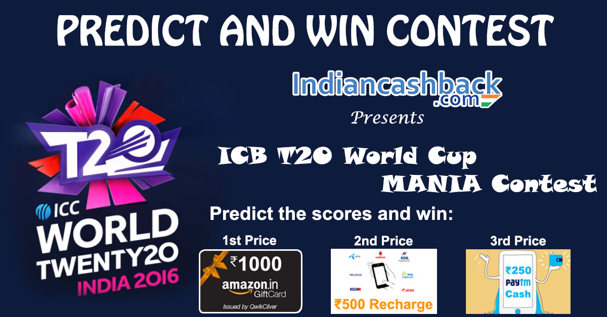 CONTEST !! PREDICT THE SCORES AND WIN REAL PRIZES - Freebie