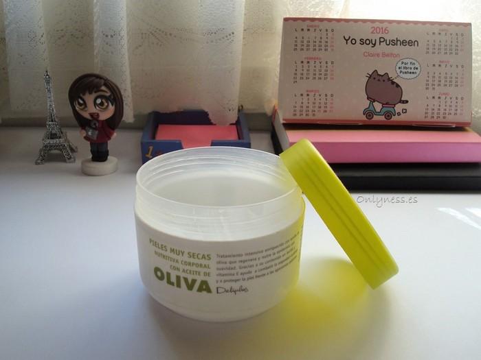 Crema hidratante aceite de oliva Deliplus