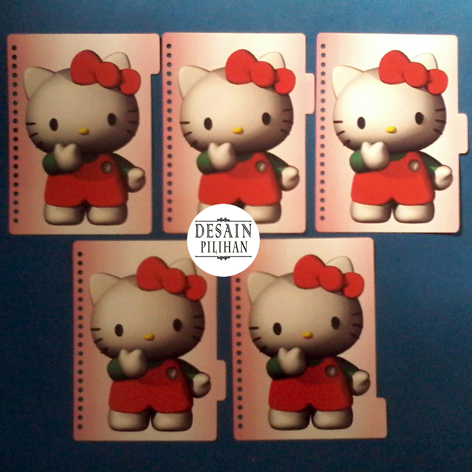 PEMBATAS BINDER, PEMBATAS BINDER CUSTOM HELLO KITTY