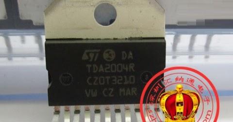 Tda1005 схема включения