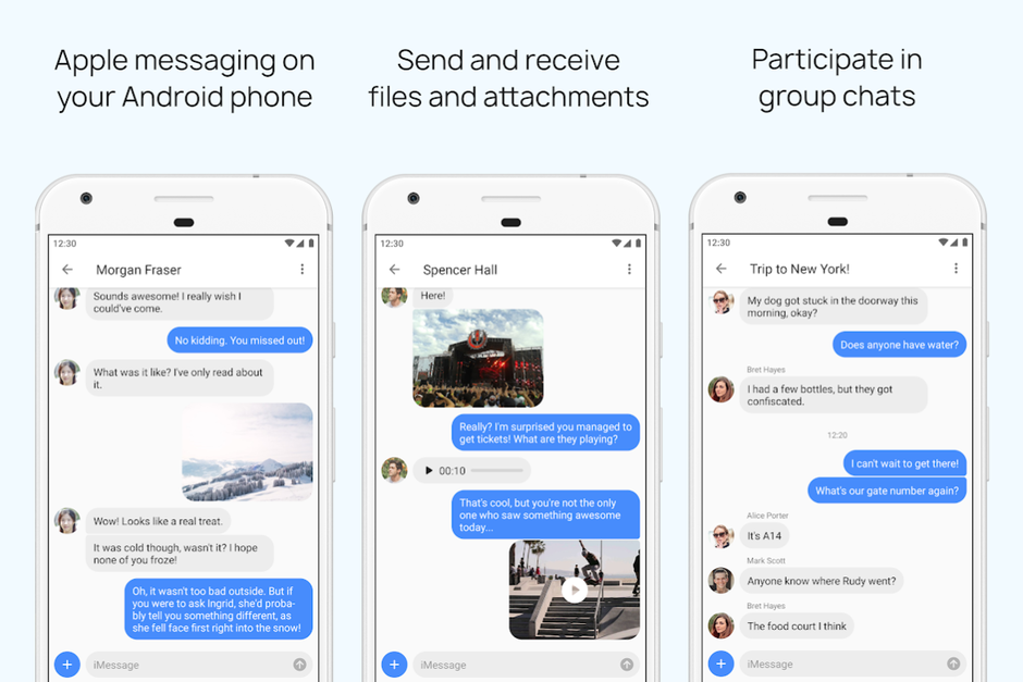 Finally! This App Brings Apple's iMessage To Android Users