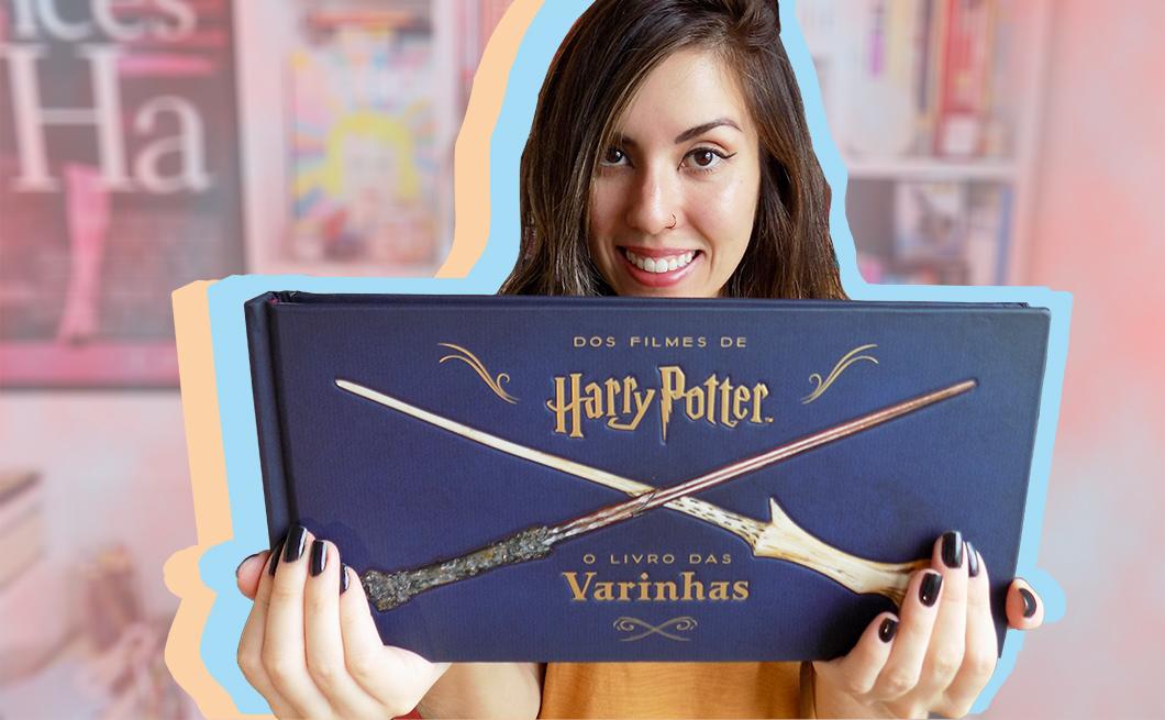 Resenha e tour pelo livro: Harry Potter - O Livro das Varinhas