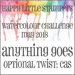 HLS May Watercolour Challenge - CAS