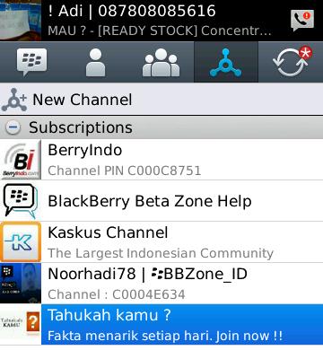 Download Bbm Versi For BlackBerry