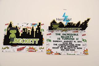 superhero invitations, avengers invitations, superhero party decorations