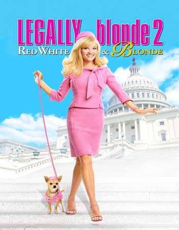 Legally Blonde 2 Red White & Blonde 2003 English 400MB BluRay 720p ESubs HEVC Free Download Watch Online Downloadhub.in