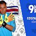 Costa Rica estreia na Copa da Rússia enfrentando a Sérvia