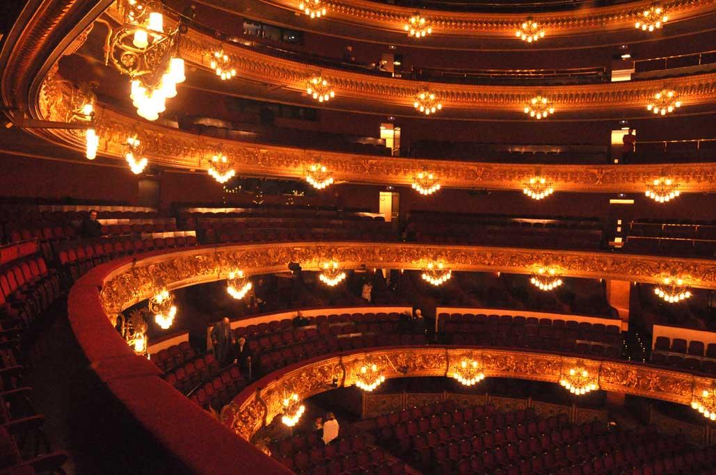 Taken for granted barcelona opera house for Balcony translate