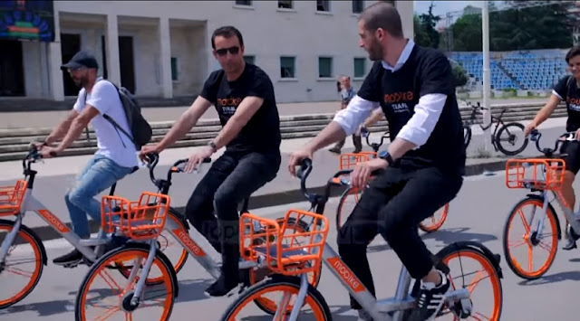 Bicycles Without Station; Tirana Municipality brings 4,000 bikes of latest technology