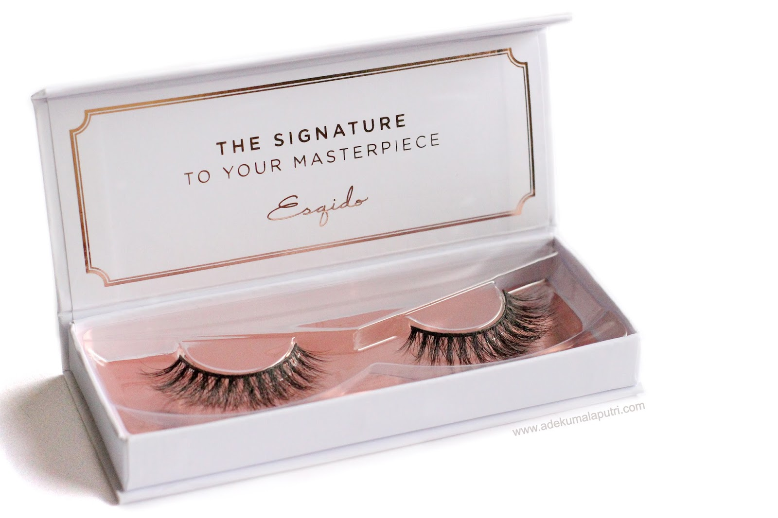 531eccf03aa In this post, I am going to share my review about Esqido mink lashes. I've  been a lot into wearing false lashes lately, so I was pretty excited to ...
