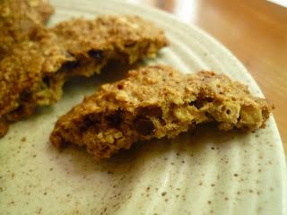 galletas de avena sin lacteos