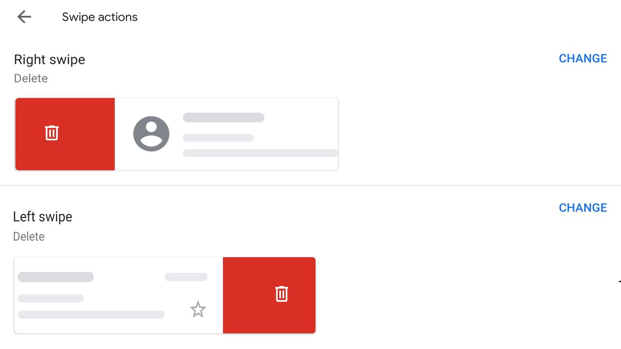 Cara ganti swipe archive menjadi delete