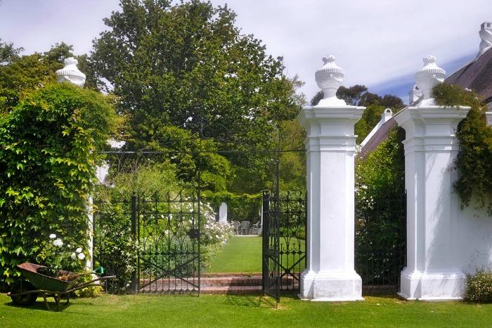 Stellenberg Gardens, puerta