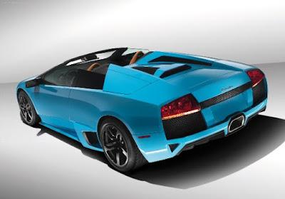 The Lamborghini Murcielago more faster
