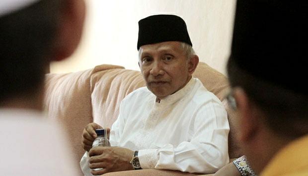 Amien Rais: Yang Kami Lawan Bukan Jokowi dan Ahok, tapi...