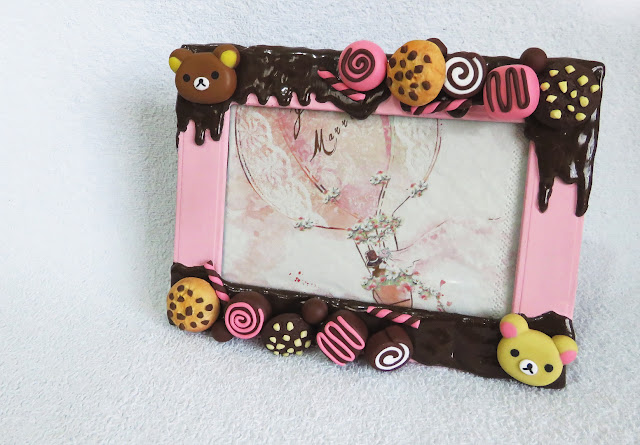 DIY: Porta Retrato Kawaii - Rilakkuma Decoden