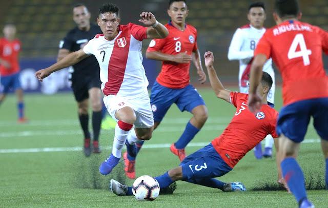 Sudamericano sub 17 - Perú empató con Chile