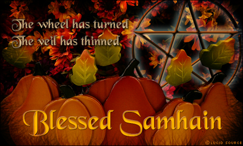Blessed Samhain from Cinosam