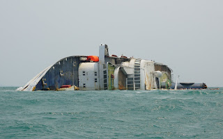 Ocean Dream ex Spirit of London, Starship Majestic Sunk off the coast of thailand