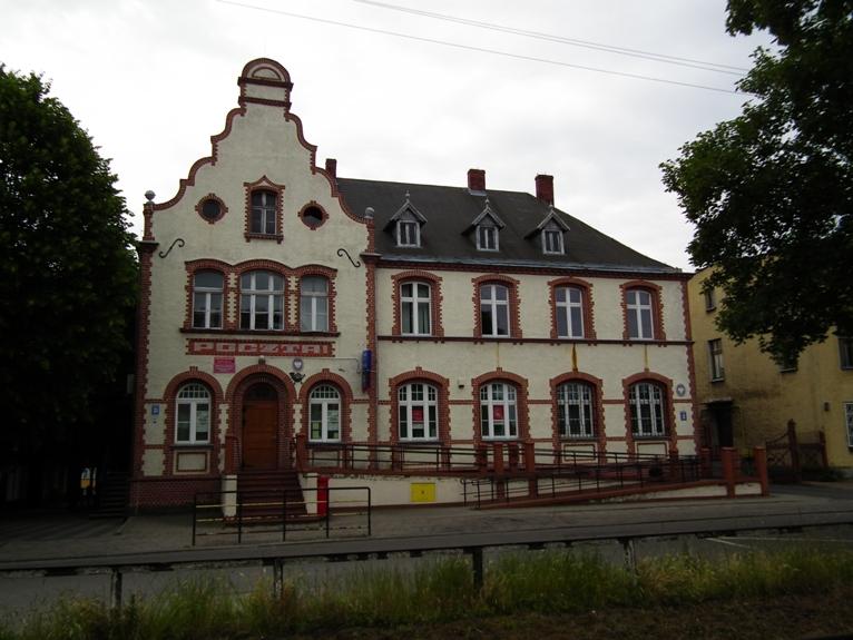 42ad9dc27e42e Budynek poczty w Gryficach, 1900 r.