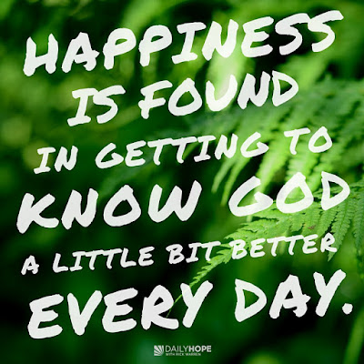 Happiness Habit: Get to Know God Better by Rick Warren