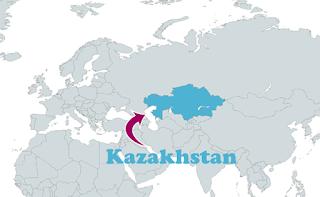 Peta Kazakhstan