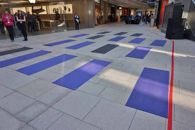 yoga mats in Trinity Leeds