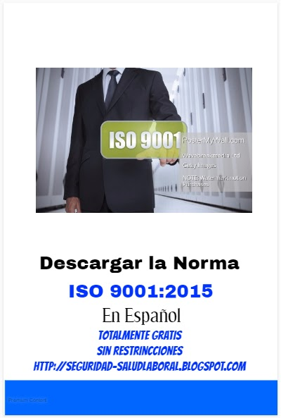norma iso 9001 version 2015 pdf descargar gratis