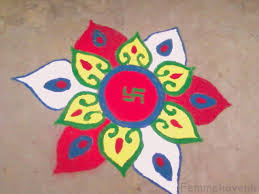 Easy and Beautiful Rangoli Designs